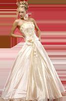 Кольорові весільні сукні, вибираємо