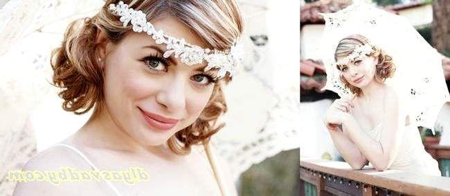 Зачіски на весілля в ретро стилі - 16 фото