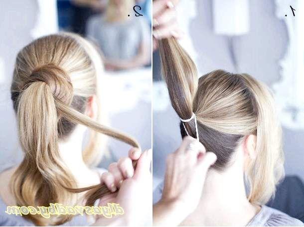 Зачіска на весілля з покроковим фото