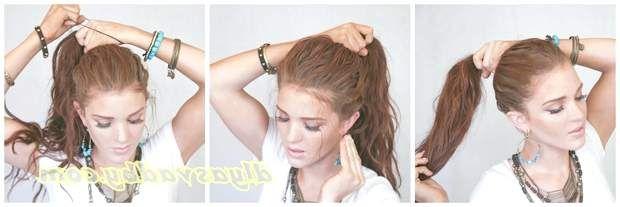 Чи не складна і гарна зачіска на весілля з прикрасою для волосся фото
