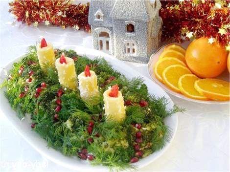 Рецепти салатів до нового року 2015
