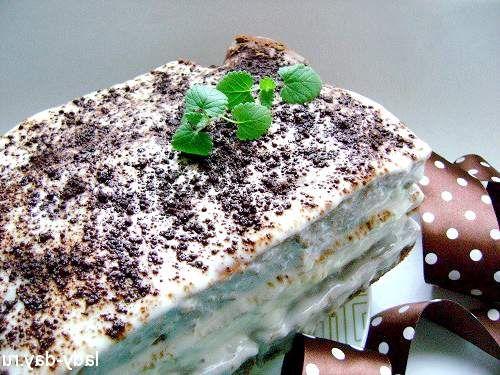 Торт на кефірі