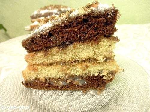 Торт з арахісом: