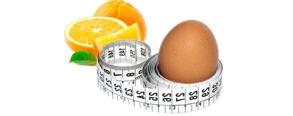 Яєчно-апельсинова дієта на чотири тижні