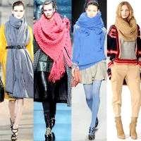 Kак правильно носити шарфи